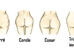 la forme de vos fesses