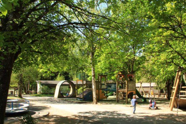 jeux extérieurs du Zoo de Servion