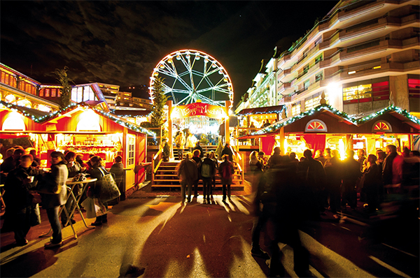 marché de Noël de Montreux