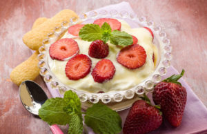 recette du tiramisu aux fraises